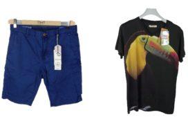 Лот 322. Фирменная мужская одежда мелким оптом.