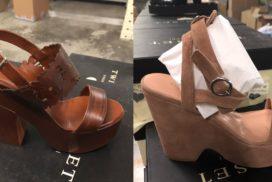 Лот 329. Женская фирменная обувь.