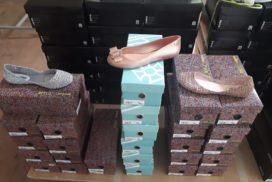 Лот № 541. Женская обувь мелким оптом.