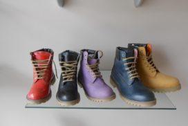 Лот 731. Кожаные ботинки.