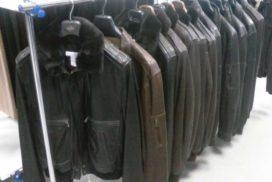 Лот 715. Мужские и женские кожаные куртки.